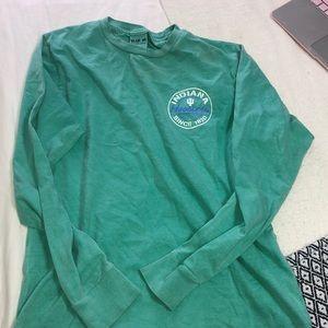 Indiana IU long sleeve T-shirt
